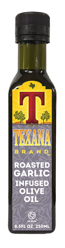 Texana Brand Garlic Olive Oil