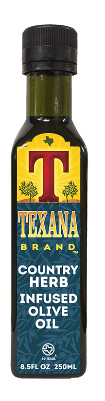 Texana Brand Herb Olive Oil