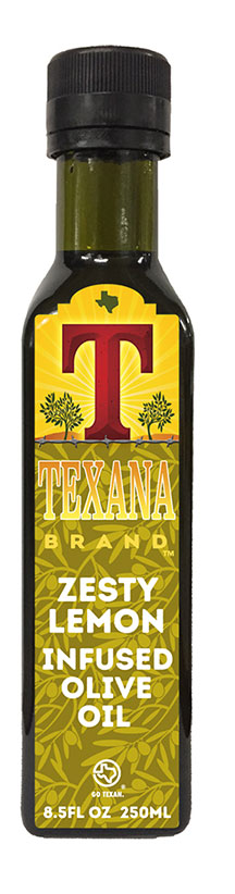 Texana Brand Lemon Olive Oil
